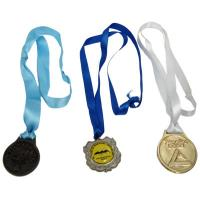 China Gold Ribbon Medals for Running wholesale