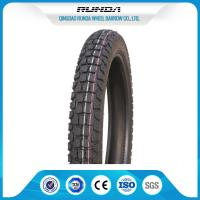 China Inner Tube All Terrain Motorcycle Tires3.25-17 48% Rubber Containt 6 Ply Rating wholesale