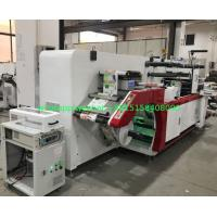 China Full Rotary Semi Intermittent Die Cutting Machine With Slitting 1 Color Print Sheet Cutting Collection Table on sale