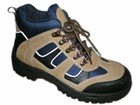 Quality SM6002 Export genuine leather ,pu sole and steel toe safety shoes for sale