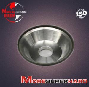 China 11V9 Diamond Grinding Wheel for Finishing of Back & Side Surface of Hard Alloys alan.wang@moresuperhard.com wholesale