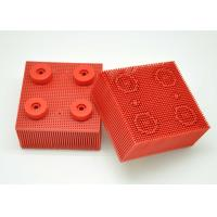 China Red Nylon Bristle Round Foot Especially Suitable For Lectra Cutter 702583 / Cutting Machine Parts wholesale