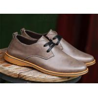 China British Derby Style Comfortable Casual Shoes For Business Chromatic Out - Sole wholesale