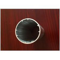 Buy cheap 6063 T5 Round Tube Aluminum Extrusion Profiles Black Electrophoresis Finish for Dia 25MM / 22MM from wholesalers