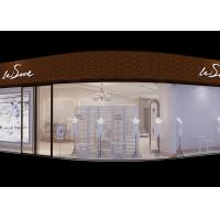 China White Retail Clothing Store Furniture , Display Furniture For Retail Stores on sale