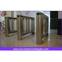China Fully Automatic Speedgate Turnstile For Access Control System on sale