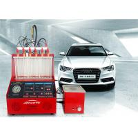 China Engine Electronic Fuel Injector Tester Cleaner Small Size 4700ml Fuel Tank on sale