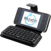 China Mini computer IPhone 4 Bluetooth Keyboard Cases with micro USB port charging for email wholesale