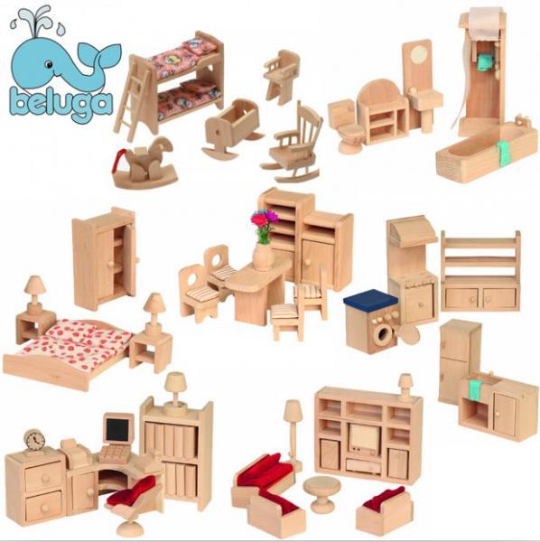 Детские игрушечные домики из дерева со схемами