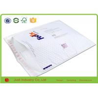 China Fedex Bubble Wrap Bags Packaging PE Mailer Self - Seal White Padded Envelopes on sale