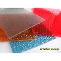 China Diamond Embossed Polycarbonate Sheet for Bathroom Materials wholesale