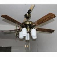 China 52 Inches Ceiling Fan Light with Five Blades, Suitable for Interior Decoration on sale