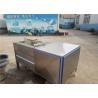 China Adjusting Conveying Speed Fruit Washing Machine Food Grade Water Saving wholesale