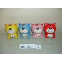 Indoor Fortune Cat Coin Bank Money Box Dolomite Material For Souvenir Gifts