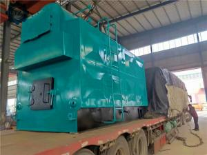 China Manual Operation Type Biomass Wood Chips Pellet Coal Fired Steam Boiler For Industrial Use wholesale