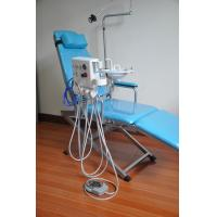 China Luxury Type Folding Dental Chair Unit With Rechargeable Led Light wholesale