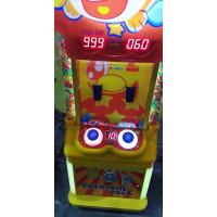 China Metal Plastic Kids Arcade Machine 833mm*560mm*1850mm Colorful Ball Subject on sale