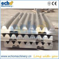 13%Mn,18%Mn,22%Mn jaw crusher castings tooth plate for quarry