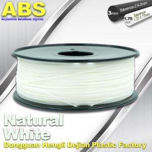 China Good eEasticity 3D Printing Materials Transparent ABS Filament For Printer wholesale