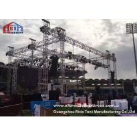 Buy cheap Non Rust Aluminum Light Truss , Sqaure / Triangle Theatre Lighting Truss Kit from wholesalers