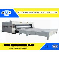 Buy cheap High Precision Cardboard Printing Slotting Machine 70 Pieces / Min Semi - from wholesalers