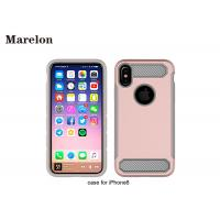 China Carbon Fiber TPU Phone Case / PC Back Cover Case For Decoration Iphone 8 wholesale