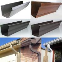gutter- aluminum/copper gutters and downspouts