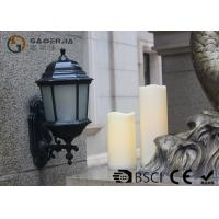China Outdoor Led Pillar Candles With Remote , Pillar Led Candles Battery Operated wholesale