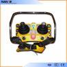 China Double Joystick Remote Control Wireless Hoist Remote Control 5 Level IP65 wholesale
