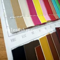 China 1mm Thick PU Synthetic Leather Wear Resistence Custom embossed PVC Leather Vinyl Fabric on sale