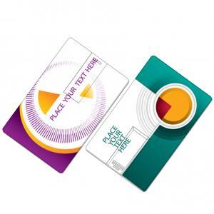 China Kongst free sample low price 2gb business card usb, credit card usb printable, bank visa c on sale