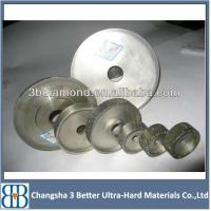 China China Manufacturer Flat Electroplated Diamond Grinding Wheel on sale