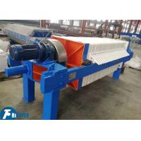 Durable Industrial Filter Press With 40m2 Filter Area For Basic Chemicals