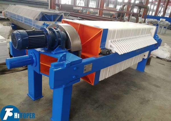 Quality Durable Industrial Filter Press With 40m2 Filter Area For Basic Chemicals for sale