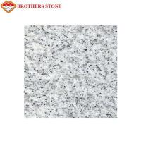 China Custom Size Sesame White Granite Stone Tiles 0.28% Water Absorption wholesale