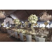 Buy cheap Gorgeous Lining Adored Aluminum Frame Canopy Beautiful Wedding Dinner Party Tents from wholesalers