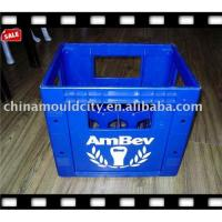 China 12 bottles plastic beer crates mould wholesale