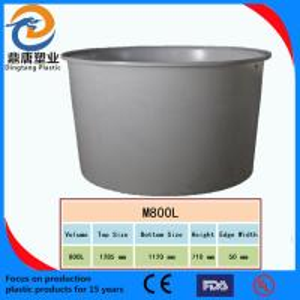 China Chemical grade PE round barrels Anti-acid corrosion wholesale