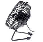 2.25W black, white, blue Multicolor Metal USB Fan with Aluminum leaf / DC brushless motor