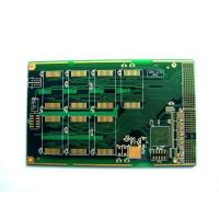 """China double-sided / 5 OZ 3 mil 0.012"""" four layer Peelable pcb board for Telecommunication wholesale"""