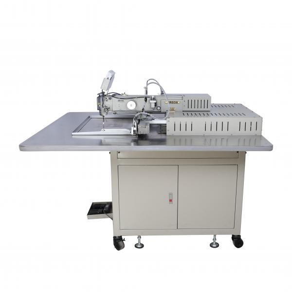 Quality Single Needle Pattern Stitching Machine, Flat Bed Tailoring Machine With Table for sale