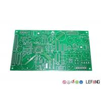 Buy cheap Halogen Free FR4 PCB Board 2 Layers HASL Surface Treatment 1.6mm Thickness from wholesalers