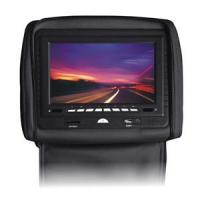 China 8 inch hd digital screen car headrest monitor built in GPS and TV tuner wholesale