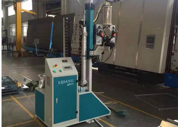 Quality Stainless Steel Desiccant Filling Machine , Double Glazing Glass Machine 1.8 Kw for sale