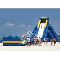 China Giant hippo inflatable water slide for adults with pool ended from China inflatable manufacturer on sale