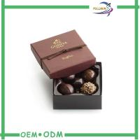 China Elegant Cardboard Chocolate Gift Boxes / Chocolate Box Packaging With Blister wholesale
