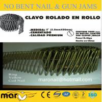 China clavos Ring Shank Coil Nails,Pallet Nails CLAVOS HELICOIDALES wholesale