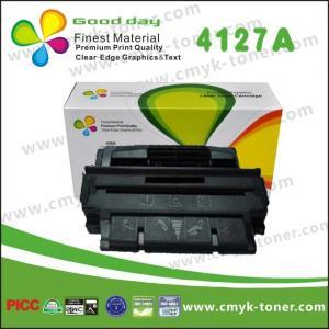 Buy cheap HP LaserJet 4000 のために互換性がある緑 OPC の黒のトナー カートリッジ C4127A を使って from wholesalers