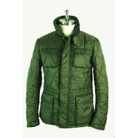 China Green short light Mens Padded Jacket , Anti Pilling breathable down jacket on sale