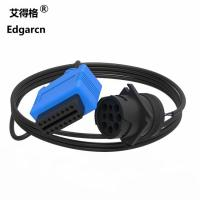 China Blue / Green Custom Wiring Harness For Trucks , Ip68 9 Pin Deutsch Cable on sale